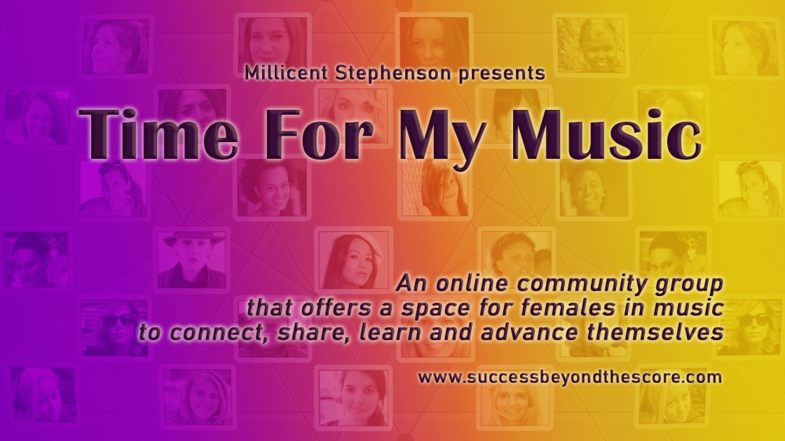 time for my music pre-launch banner