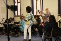 Cafemnee Jam Session BBC Songs Of Praise 05022017 Mark Warburton Millicent Stephenson