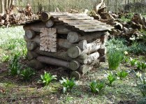 Bug Hotel with Green Man image