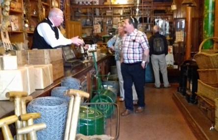 Inside the hardware shop