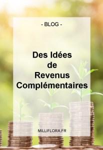 idées de revenus complémentaires