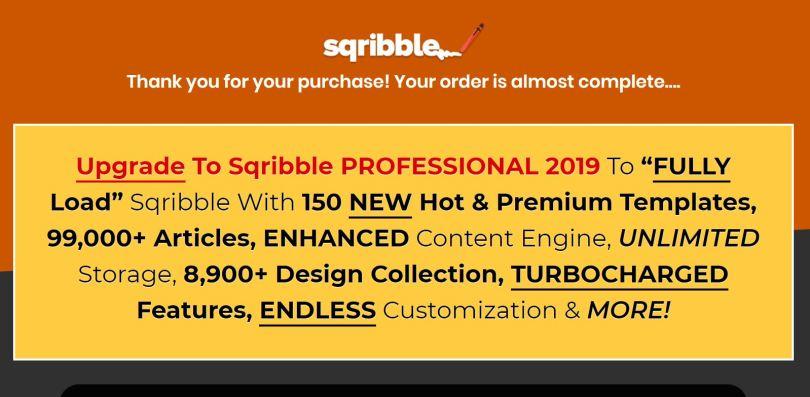 Capture Sqribble 4 upgrade