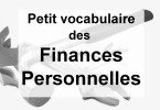 lexique vocabulaire finance personnelle