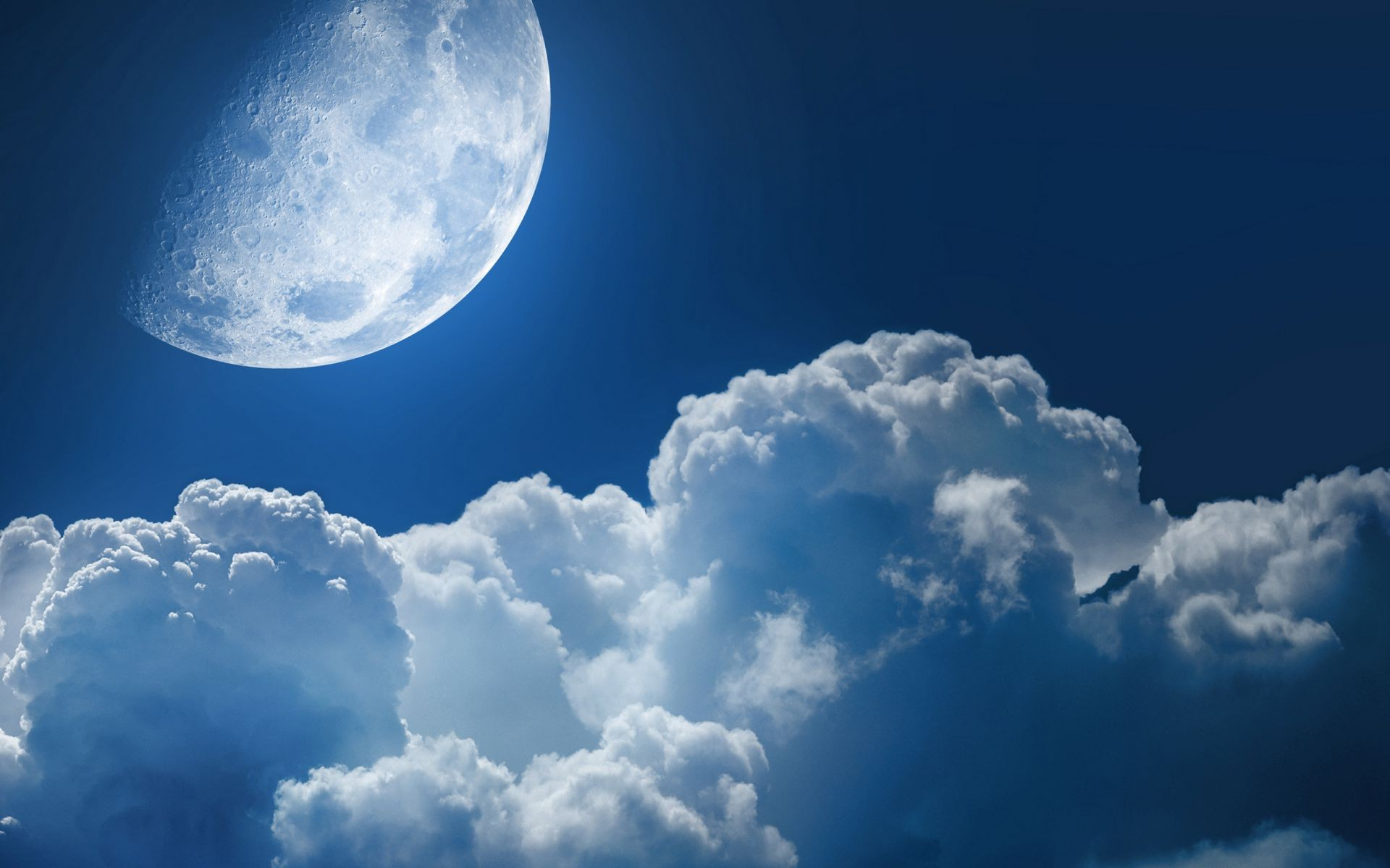 Planet Star Cloud Planet Clouds Space Moon