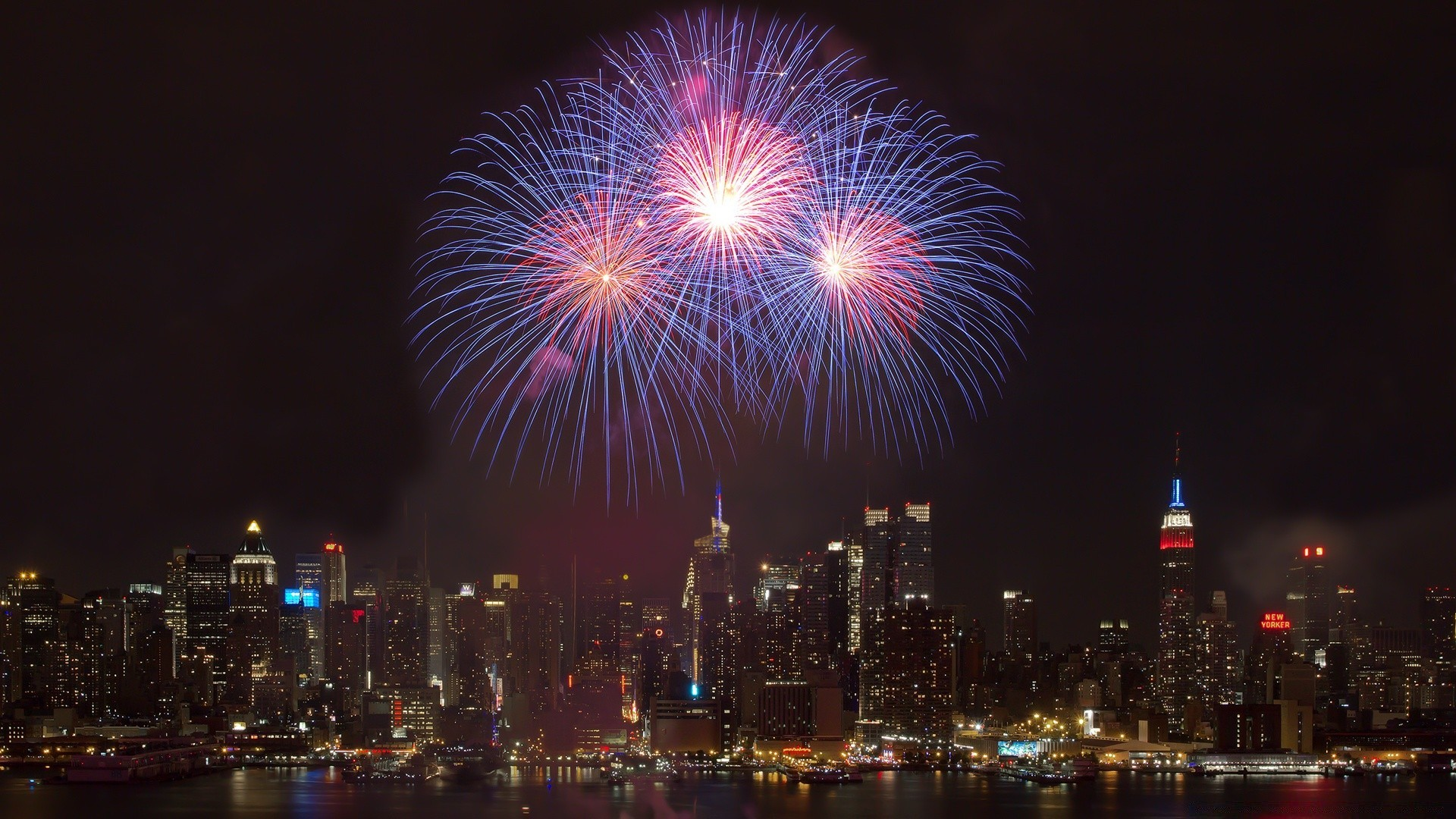 New York City New Year  Android wallpapers for free