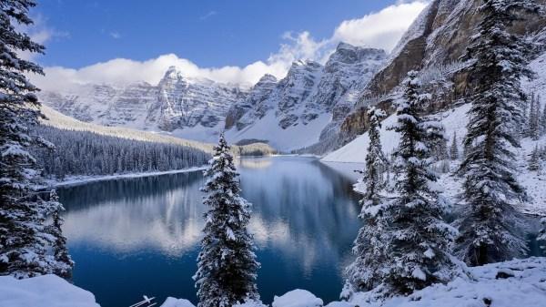 Зимний пейзаж. Обои для рабочего стола.