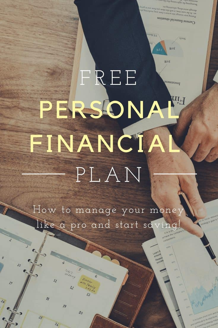 Personal Financial Plan Example Manage Your Money Like A Pro