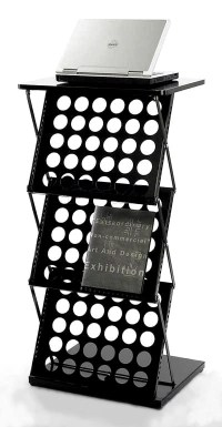 A3 brochure holder stand