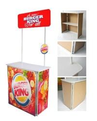 sampling booth budget