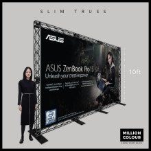 Slim Mini Truss Stage Backdrop 10ft Malaysia