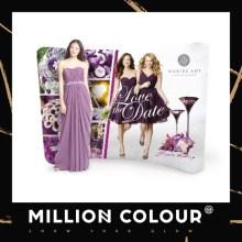 Mini Tension Fabric Backdrop display - Millioncolour Malaysia Supply