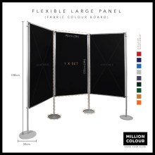 Flexible Large Panel Display