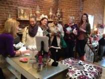 Line out the door at Lynn's book signing!