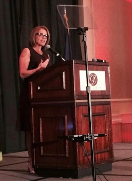 Katie Couric keynotes the Woman of the Week Luncheon