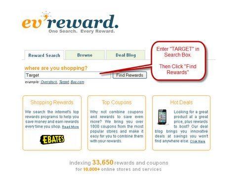 Air Miles Shopping via EV Reward