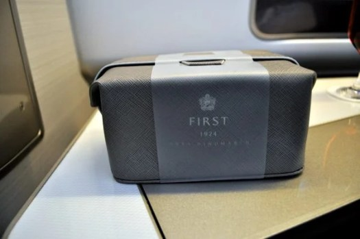 British Airways First Class Review - Amenity Kit