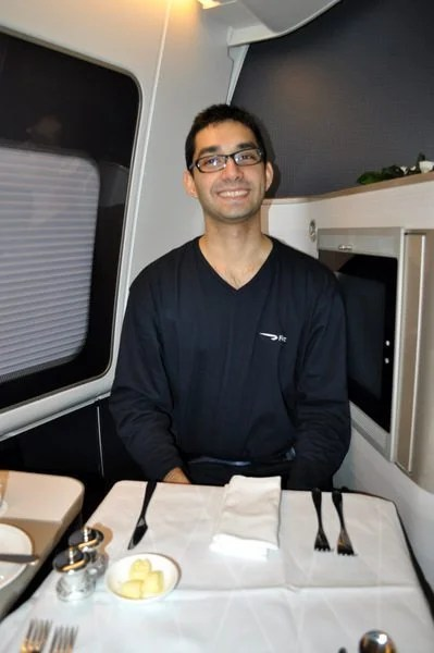 British Airways First Class Review - Where's the food?