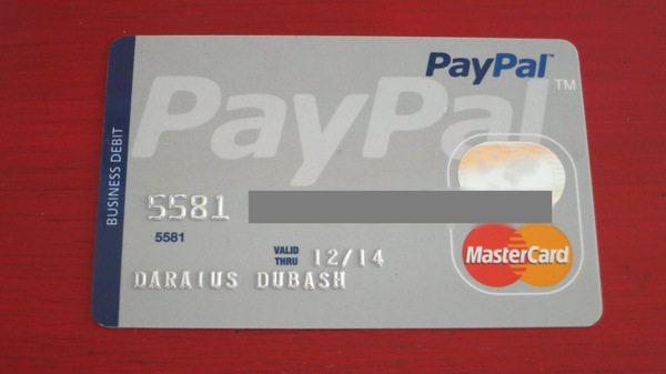 Paypal debit card million mile secrets paypal business debit mastercard colourmoves