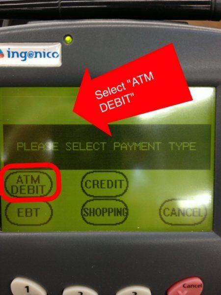 Select Debit