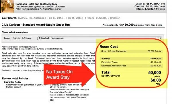 Reader Question: Do You Pay Taxes On Hotel Award Stays?