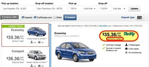 How To Find Cheap One Way Car Rentals