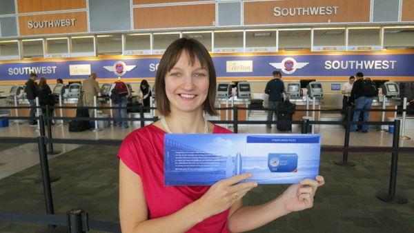 Southwest 50,000 Point Card