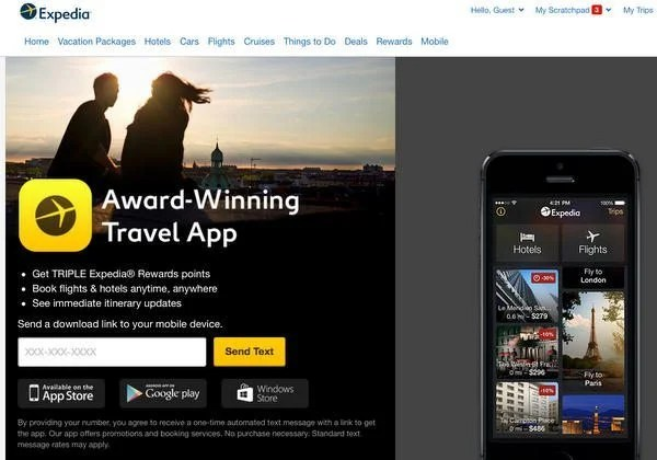 Get 50 Off A 200 Expedia Hotel Booking For Downloading An App