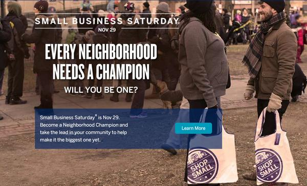 Great News: AMEX Small Business Saturday Is Back!