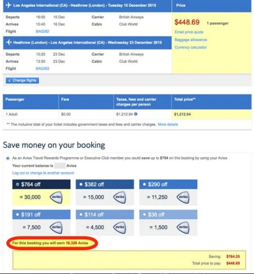 Hot British Airways Business Class To London 446