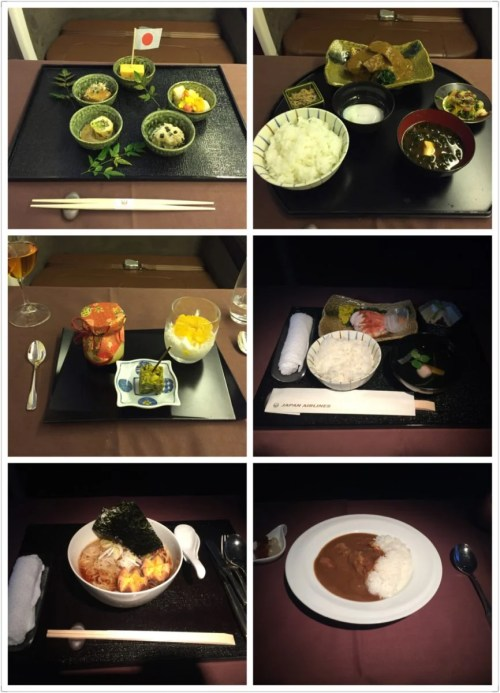 JL first class food
