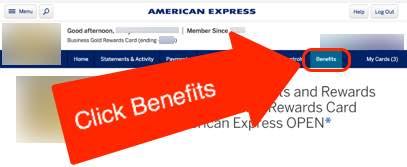 Choose AMEX Business Gold Bonus Category