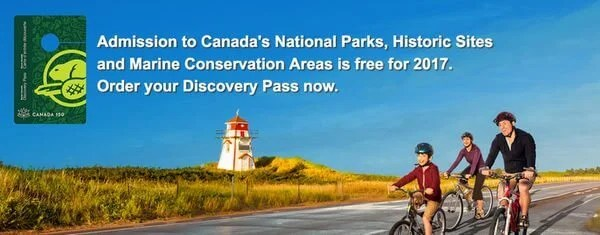 Visit Canadian National Parks for Free in 2017