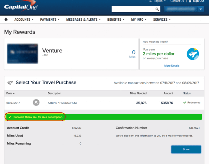 How To Use Capital One Venture Miles