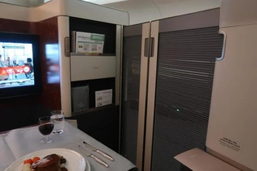 Reader Ramy Flew In First Class To Hong Kong And Made It His Miles Points Goal