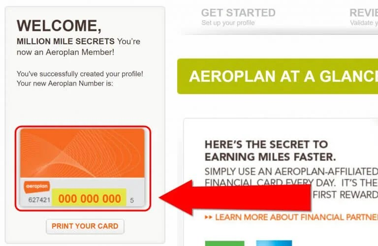 Ultimate Guide To Air Canada Aeroplan Miles Part 2 Step By Step Guide To Opening An Account