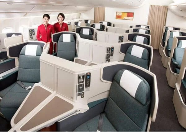 Persistence Pays Off Business Class Award Flights For A Family Of 4 Worth Over 18000 From Asia To The US