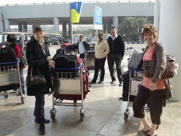 Mother-In-Law's First Trip to India: Radisson Blu, Agra