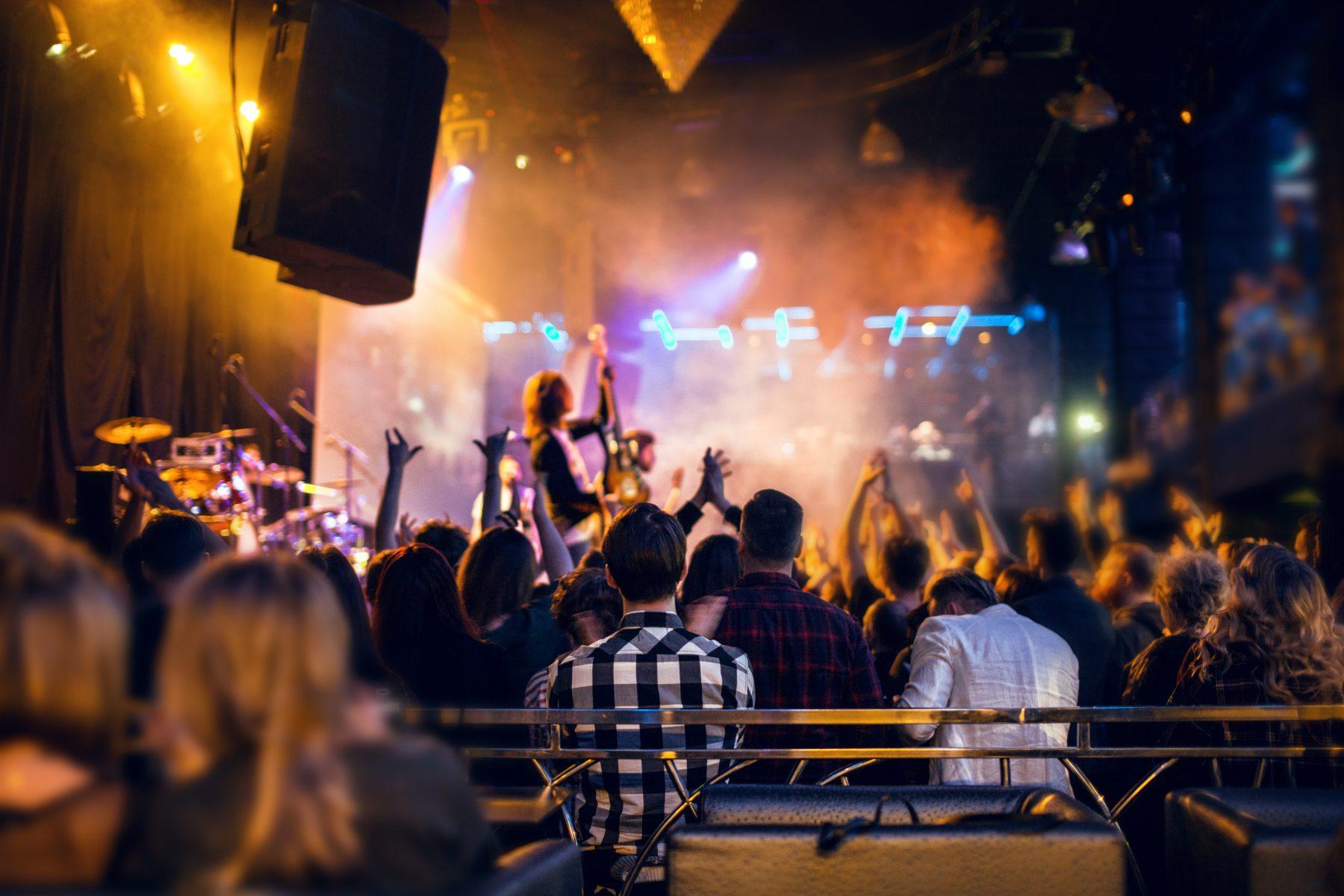 VIP access at concert