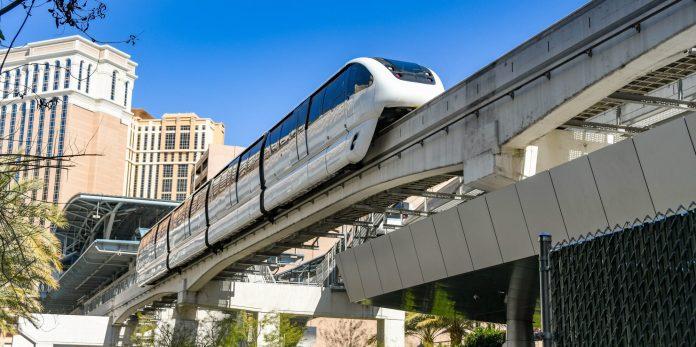 Monorail in las vegas