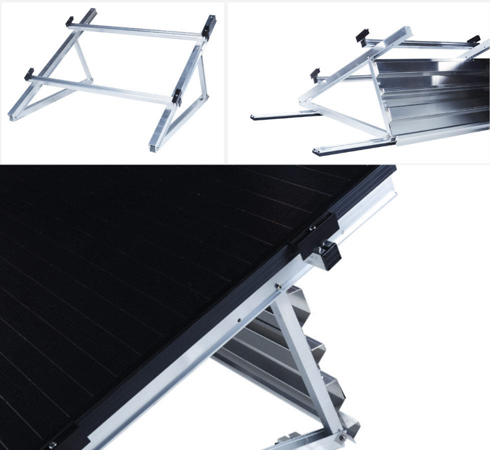 Système de fixation toiture plate