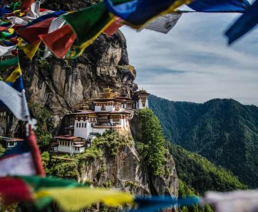 Tiger's Nest Monastery, Paro, Bhutan