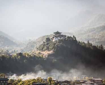 Bumthang (Jakar) Dzong, Bhutan