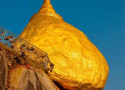 Golden Rock, Burma | Tailor-made tours to Burma | Mills Potter