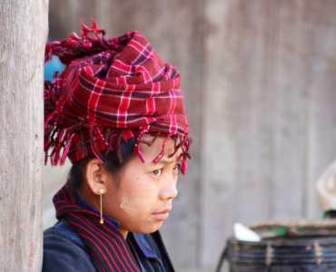Local Lady, Burma Market