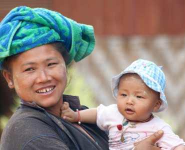Trekking from Kalaw to Inle, Burma