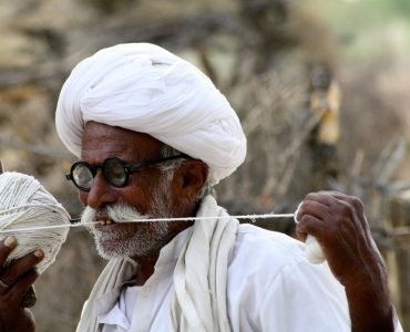 Bishnoi Man, Rajasthan, India