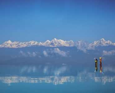 Infinity Pool, Dwarika's Dhulikhel, Kathmandu, Nepal