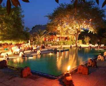 Pool - Hotel at Tharabar Gate, Bagan, Burma