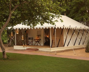 Tented Suite Exterior, Sher Bagh, India, Ranthambore