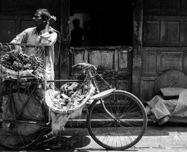 Typical scene, Old Delhi